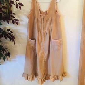 Overdyed vintage dress/nightgown